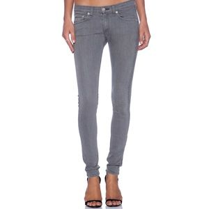 Rag & Bone The Skinny Jean in Dark Iron